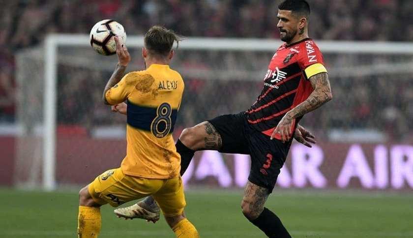 """ COPA LIBERTADORES "": Un golazo de Mac Allister le dio la victoria a Boca ante Athletico Paranaens"