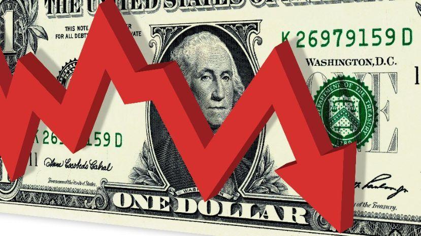 DOLAR: Baja 12 centavos a $ 43,33