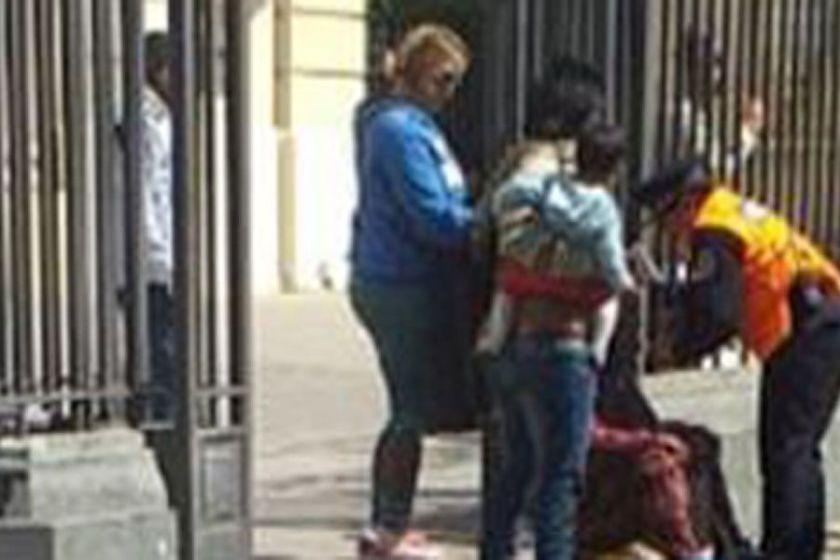 Le arrojó lavandina en la cara a una mujer no vidente, ocurrio en Santiago
