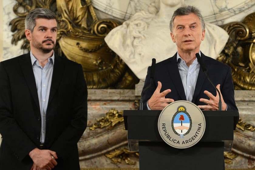 """El jefe de gabinete Marcos Peña anticipó que el presidente Mauricio Macri hará """"propuestas concretas"""" orientadas solamente a la clase media"""