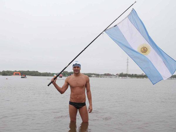El tucumano Matías Ola unirá Inglaterra y Francia a través del Canal de la Mancha