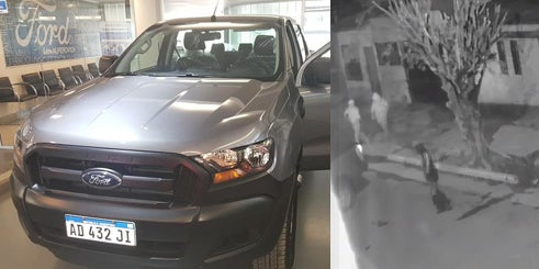 Inseguridad a full: Tres asaltantes le robaron la camioneta a un vecino del Barrio SEOC (video)