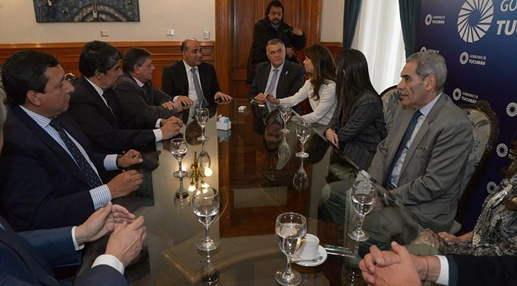 El gobernador Manzur promulgó la creación del Centro Judicial de Banda del Río Salí