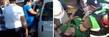 ESCANDALO: Un agente de espacios público fue agredido por policías de la Brigada