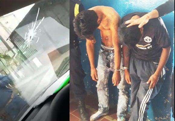 A tiros atacaron a un móvil de EDET en La Costanera: hay dos detenidos(VIDEO)