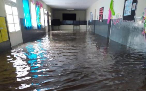 El temporal deja a 28 escuelas sin clases en el sur de la provincia