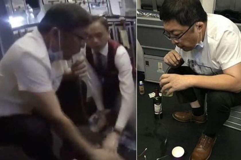 Durante un vuelo : Un médico succionó la orina de un pasajero con problemas de vejiga y le salvó la vida