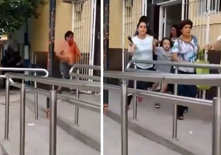 Narco escapaba de la policía, entro al Caps de San Jose en Yerba Buena y causó desesperación y temor entre los pacientes (VIDEO)