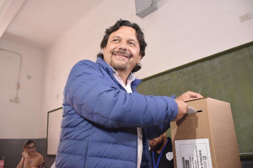 SALTA: Gustavo Sáenz ganó la elección y será el nuevo gobernador