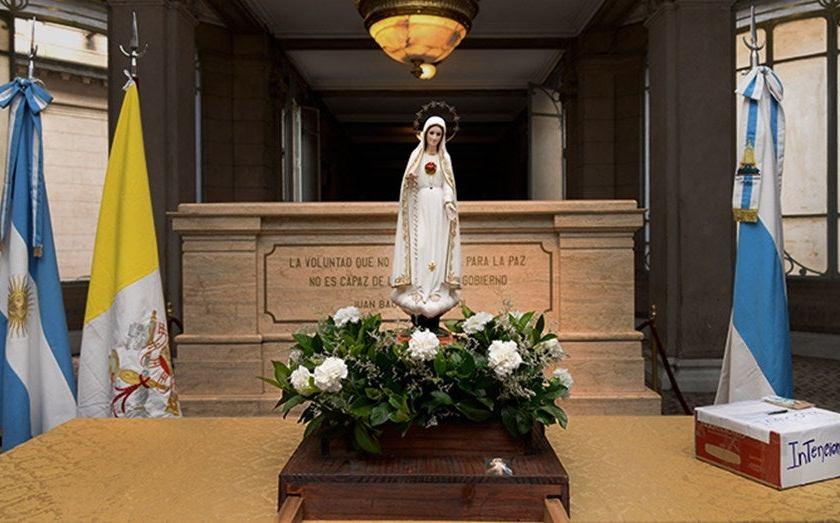 Tucuman, recibe la visita de la Virgen de Fatima