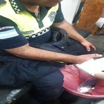Asaltaron a un policia, le cortaron un dedo y le robaron la moto, ocurrio en San Pablo