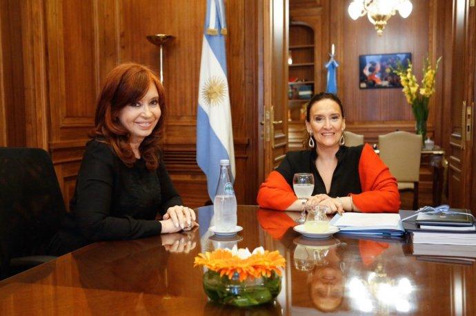 TRASPASO DE MANDO: Michetti y Cristina se reunieron para acordar detalles de la transición