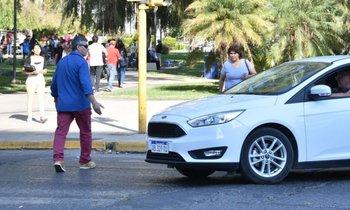 """"""" PRIORIDAD DE PASO """": Un conductor tendrá que pagarle $ 710.000 a un peatón"""