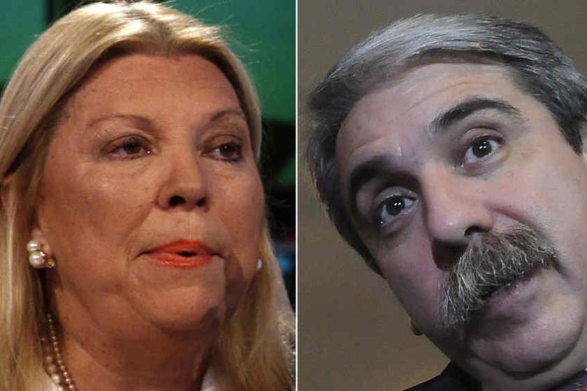 Tras las polémicas declaraciones, Aníbal Fernández pidió que internen a Elisa Carrió