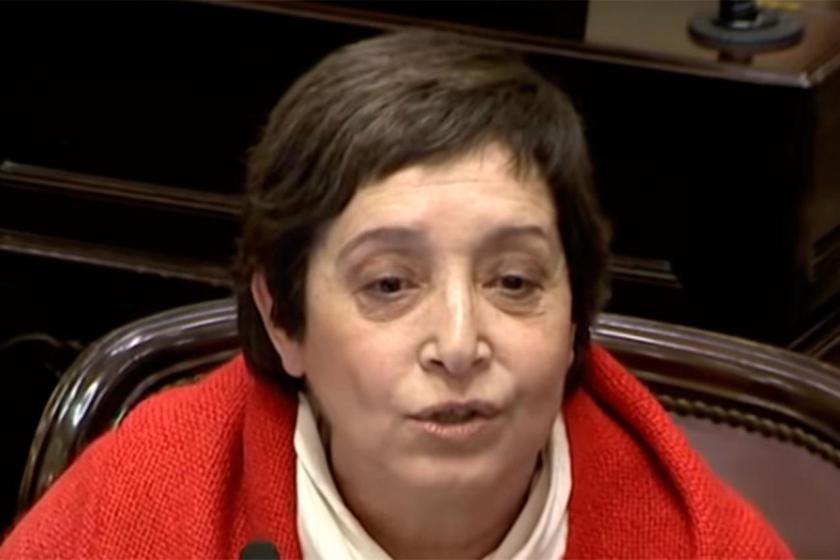 La senadora Beatriz Mirkin fue denunciada por encubrimiento agravado