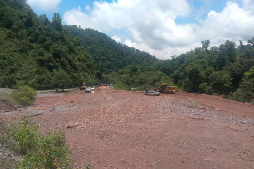 Nuevamente esta cortada la ruta que conduce a Tafí del Valle