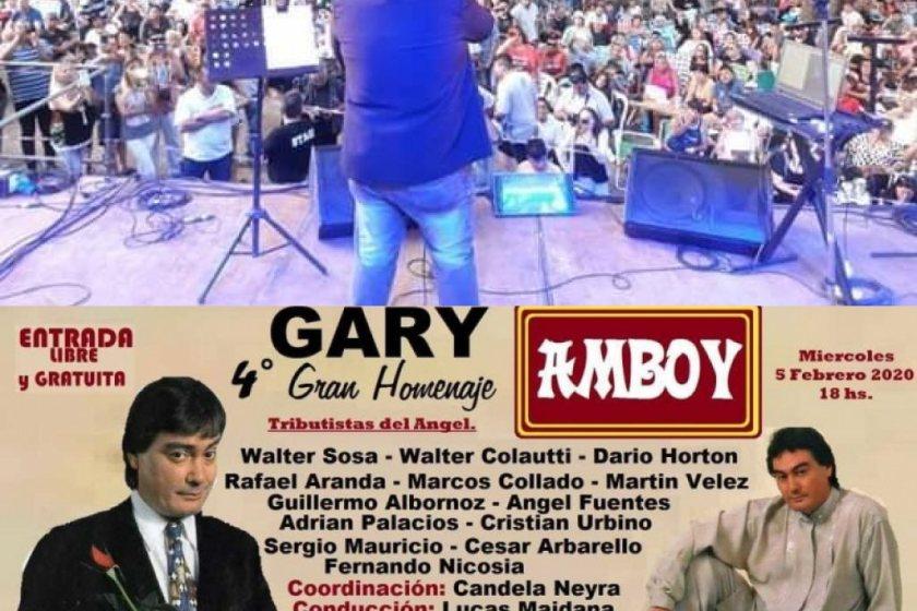 Un cantante tucumano estará presente en el  4° Gran homenaje a Gary