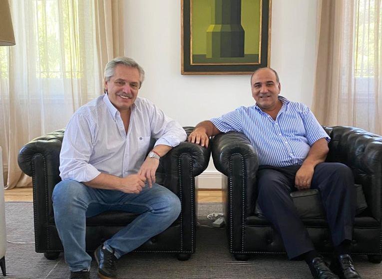 El gobernador Manzur se reunió con el Presidente este sábado en la Quinta de Olivos