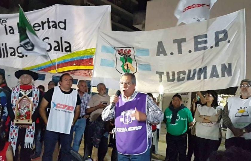 """Toledo de ATEP: """"el tiempo se agota y no hay condiciones para iniciar las clases"""""""