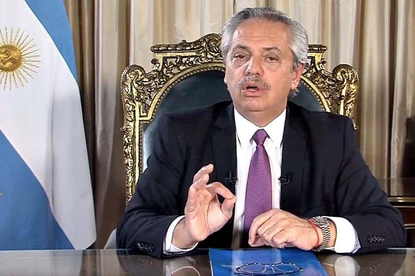 """El presidente Fernandez  analiza """"PARAR LA ARGENTINA POR 10 DIAS"""" para evitar que circule el CORONAVIRUS"""