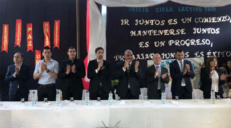 El ministro Trotta junto al gobernador Manzur encabezaron en Burruyacú el acto de inicio de ciclo lectivo