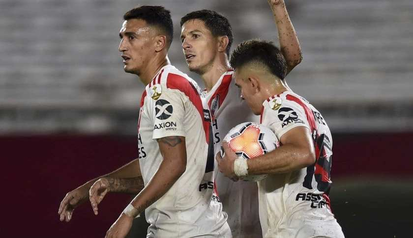 River goleó a Binacional 8-0  (VIDEO)