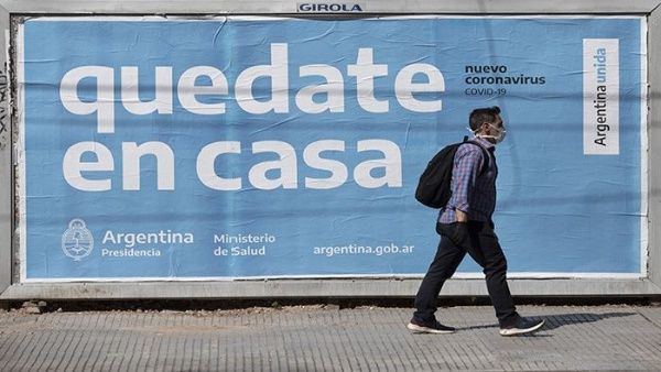 """"""" PANDEMIA DE CORONAVIRUS EN ARGENTINA ultimas 24 horas: Se registraron 5 nuevas muertes, y son 95 las víctimas fatales, mientras que 66 personas dieron positivo hoy y hay un total de 2208 infectados"""