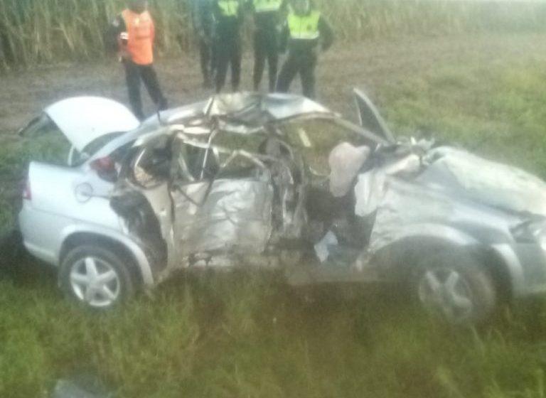Murio un policía tras chocar con su auto mientras se dirigía a cumplir su labor