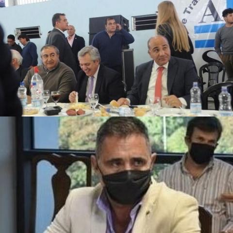 """"""" Cuando Fernández era candidato Manzur lo agasajo con un asadito de 20 millones"""""""