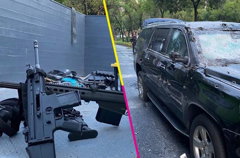 Narcos atentan con armas de guerra contra el secretario de Seguridad de la Ciudad de México (VIDEOS)