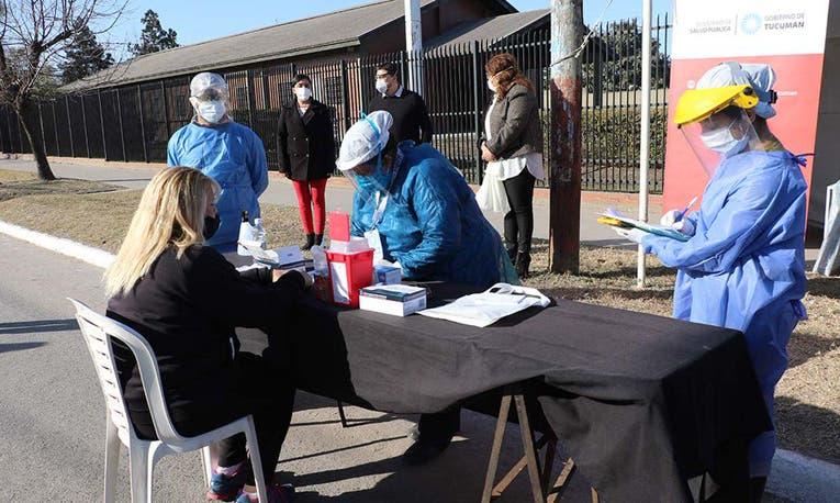 """"""" CORONAVIRUS EN TUCUMAN"""": Hoy  hubo un total de 10 infectados en la provincia"""