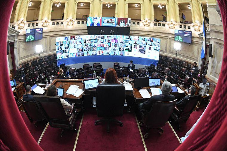 El Senado de la Nacion convirtió en ley la regulación del teletrabajo