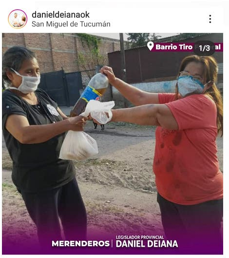 """"""" Devaluando al peronismo"""": El legislador Deiana se publicita regalando botellas de plástico con mate cocido"""