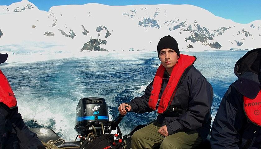 Un tucumano en la Armada cuenta su pasión por la patria y el mar