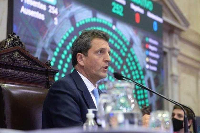 Sergio Massa rechazó aumentar los miembros de la Corte Suprema de Justicia de la Nacion