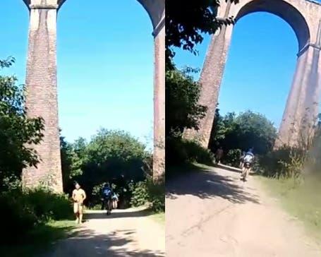 """Un satiro en el Viaducto El Saladillo en Tafi Viejo: """" Aparte de los robos un tipo se pasea todos los días desnudo""""(VIDEO)"""