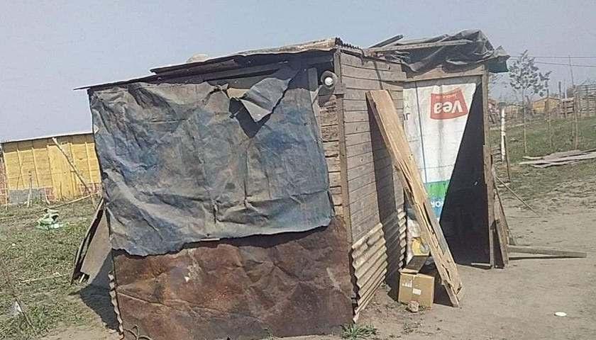 ALDERETES: Viven en la pobreza extrema y aun así le robaron hasta las chapas de su casilla, habían ido al hospital
