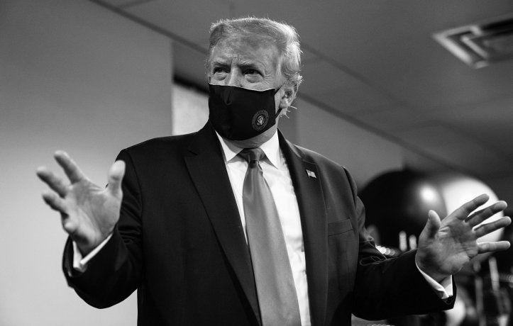 Tras el positivo de Coronavirus, trasladan a Trump a un centro médico militar