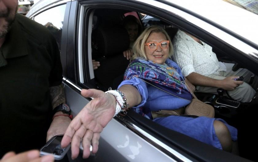"""Lilita Carrió: """"No soy amiga de Alberto, pero es mi presidente y hay que fortalecerlo"""""""