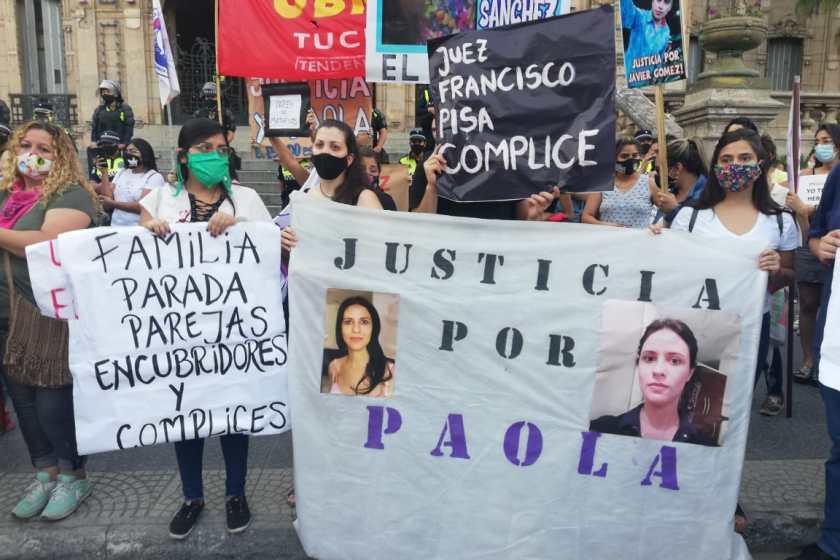 Tucumán se movilizo pidiendo justicia por Paola Tacacho