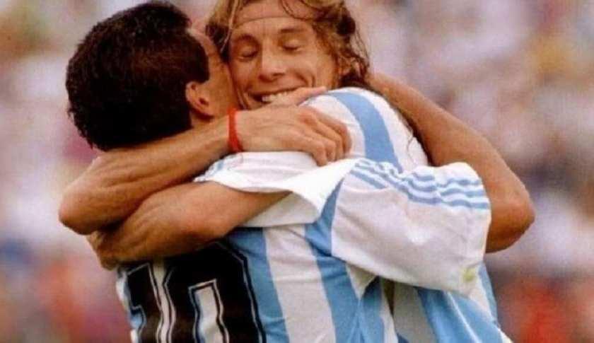 "Caniggia devastado por la muerte de Maradona: ""Era mi hermano del alma"""