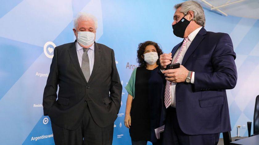 """Segun el ministro Ginés González García: """"No será obligatorio vacunarse contra el coronavirus"""""""