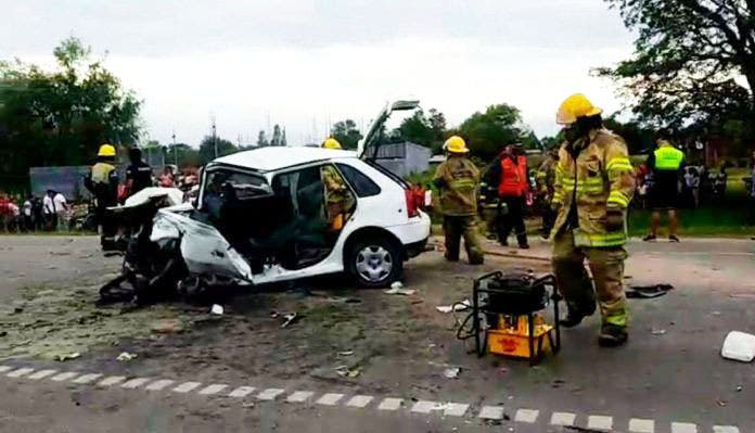 Un muerto y tres heridos en un brutal choque frontal en la ruta 38 , ocurrió en Villa Quinteros (VIDEO)