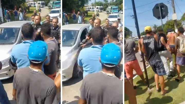 BRASIL: fuertes cacerolazos e incidentes por la orden a turistas de abandonar la ciudad de Buzios (VIDEO)