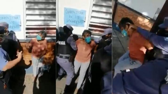 """"""" En Formosa gobierna una dictadura"""" : Detuvieron a dos concejales por denunciar al gobernador Insfrán (VIDEO)"""