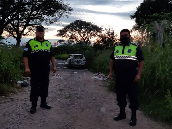 Alderetes: Ladrones entran a su casa, se llevan la camioneta y luego apareció en la ruta calcinada