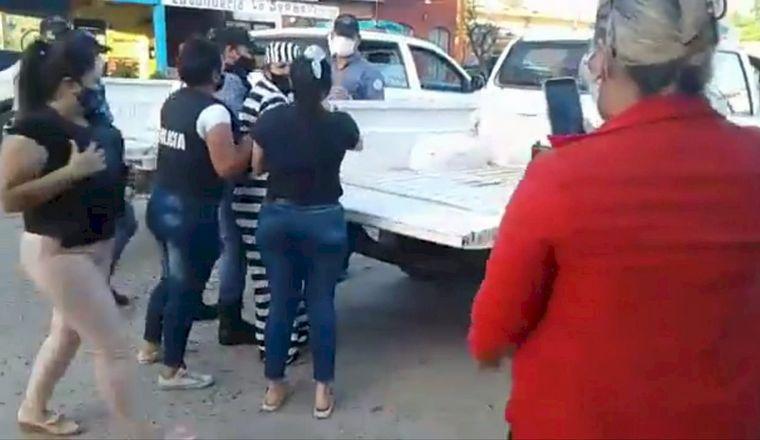 FORMOSA: Una mujer fue detenida por protestar frente a un ministro
