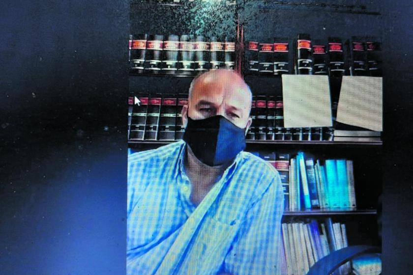 """Pelea por los Certificados de Buena Conducta: """"no le pegué un cabezazo, él golpeó su rostro contra mi ceja"""""""