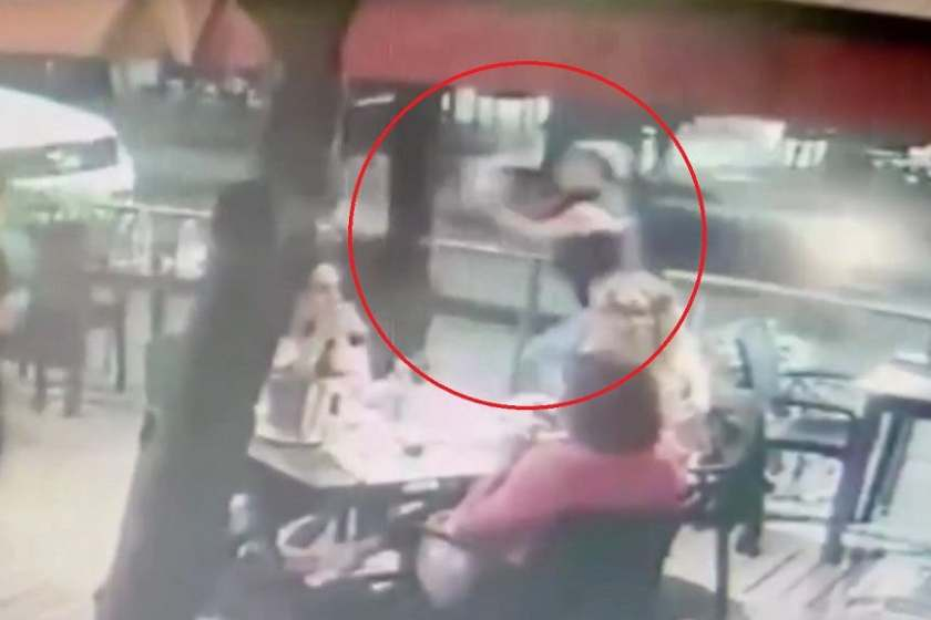(VIDEO)Barrio Norte: Delincuente arrebató una notebook en un bar de Plaza Urquiza(VIDEO)