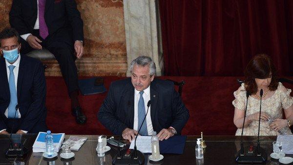 Apertura de sesiones ordinarias en el congreso de la nación: Las principales definiciones de Alberto Fernández